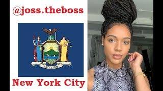A Beautiful BLACK WOMAN !! From NYC .. Joss The Boss