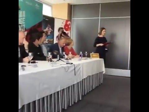 Pannonian & Fise Osijek, Croatia Press Conference
