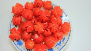 Cách làm mứt cà chua bi không cần vôi trong đơn giản mà ngon