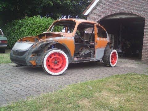 """wrx-sti-engine-in-vw-beetle-vocho-fusca-bubbla-cox-subaru-project.-""""part-1"""""""