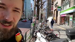 Ulice Tokio oczami Polaka - wąsko, tłocznie ale czysto