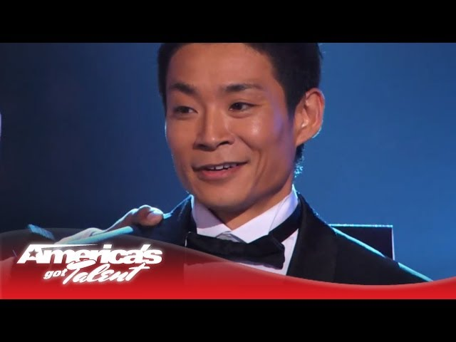 Kenichi Ebina - Amazing Dancer Wins America's Got Talent Season 8 - America's Got Talent 2013 Travel Video