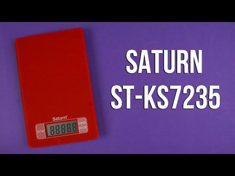Распаковка SATURN ST-KS7235 Red