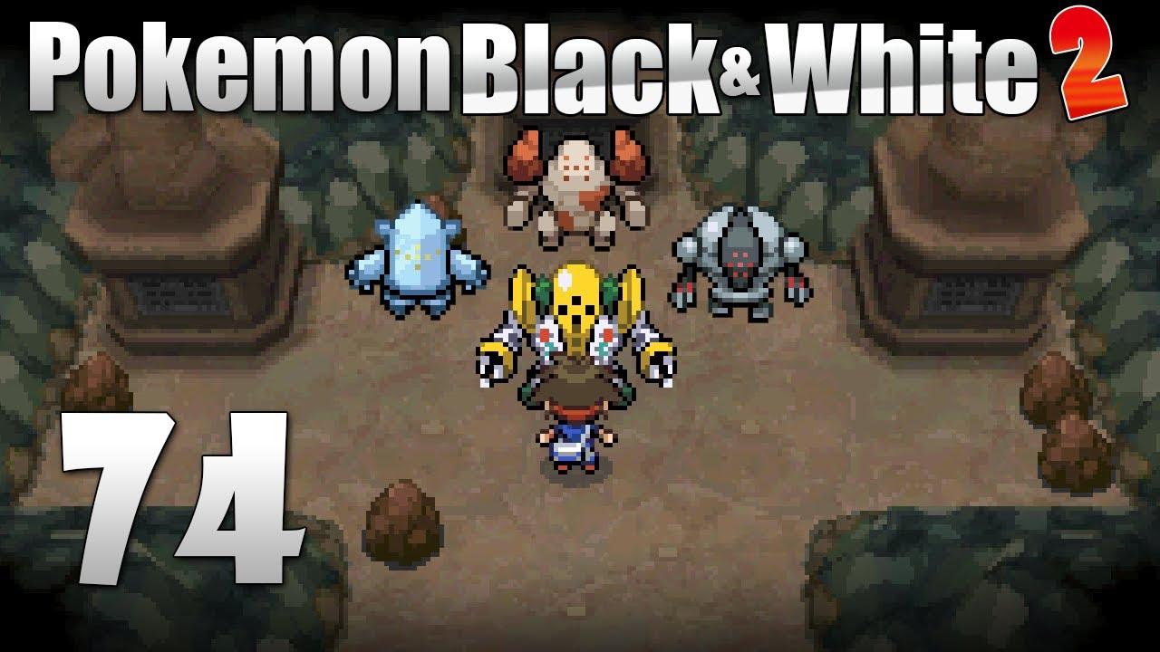 pok233mon black amp white 2 episode 74 catching regirock