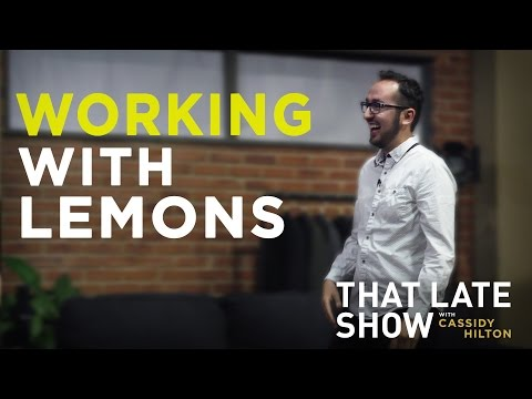 Working with Lemons Interview | That Late Show with Cassidy Hilton