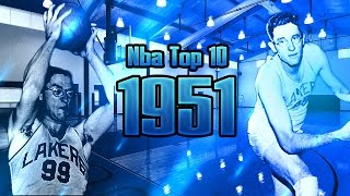 NBA Top 10 Players 1950-1951 Regular Season