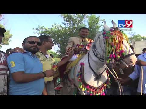 Social Unity Blooms : Dalit wedding procession welcomed by upper caste people   Sabarkantha