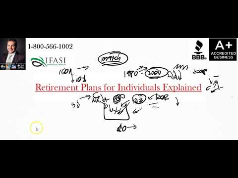 Retirement Plans For Individuals - What Are Retirement Plans For Individuals