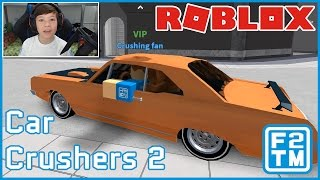 Roblox Car Crushers 2 (Beta Testing New Game)