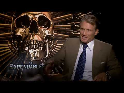 Dolph Lundgren, The Expendables 2 Interviews