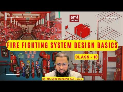 FIRE FIGHTING DESIGN BASICS -  4 hrs CLASS