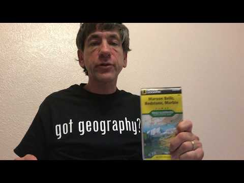 Exploring Trails Illustrated National Geographic Topographic Maps