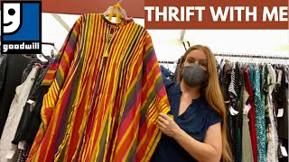 Guess How Much This Dress Is Worth?! Thrift With Me At Dollar Day At Goodwill In Los Angeles!