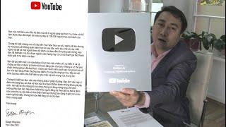 Thoibao.de vừa nhận nút Bạc của YouTube