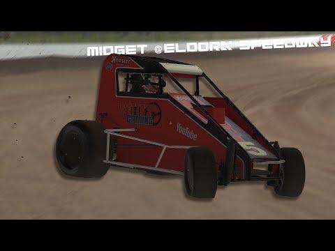 iRacing - Midget Cup @ Eldora Speedway