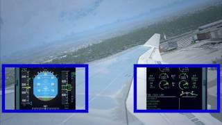 FS2004 - Flight LH 490 Frankfurt-Seattle