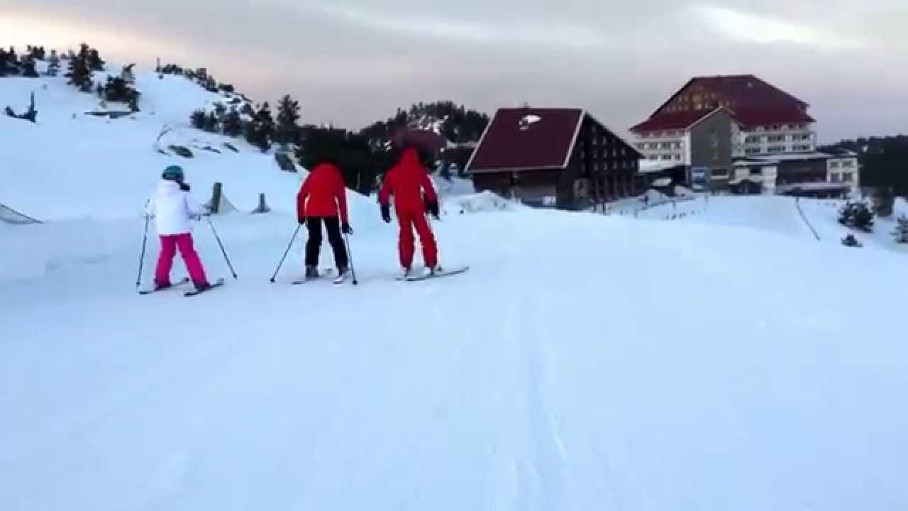 Kartalkaya Kayak Merkezi Youtube