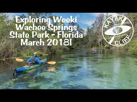 Florida Kayaking Weeki Wachee Springs River
