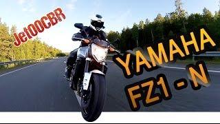 YAMAHA FZ1-N Fazer | ТЕСТ-ДРАЙВ от Jet00CBR | Обзор мотоцикла(Этот фазер FZ1 получился непохожим на обычные дорожники. Он более резкий, более жёсткий и более агрессивный..., 2014-07-07T13:21:52.000Z)