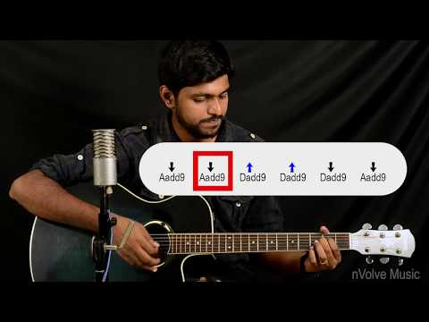 How to play Azhagiye | Guitar Lesson | Kaatru Veliyidai | nVolve | A R Rahman | Hamsaro | Chords