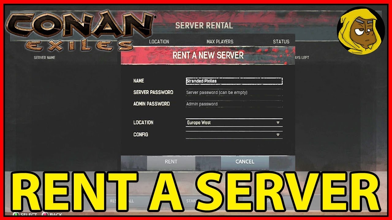 HOW TO RENT A SERVER - XBOX ONE - CONAN EXILES