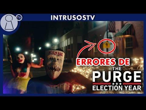 Errores de películas - la purga 3 (the purge 3)La noche de las bestias critica review