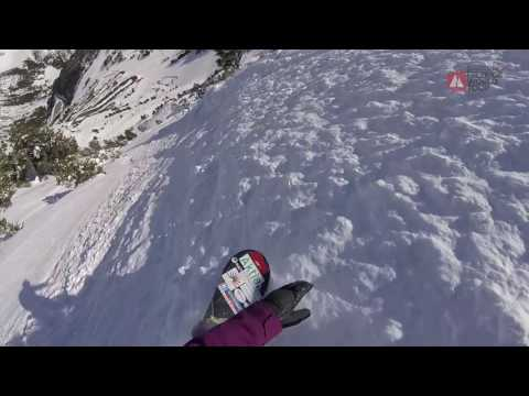 GoPro run Mikaela Hollsten - Vallnord-Arcalís Andorra FWT17 - Swatch Freeride World Tour 2017