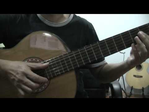 guitar study 4 การตีคอร์ดพร้อมเมโลดี้และเบส