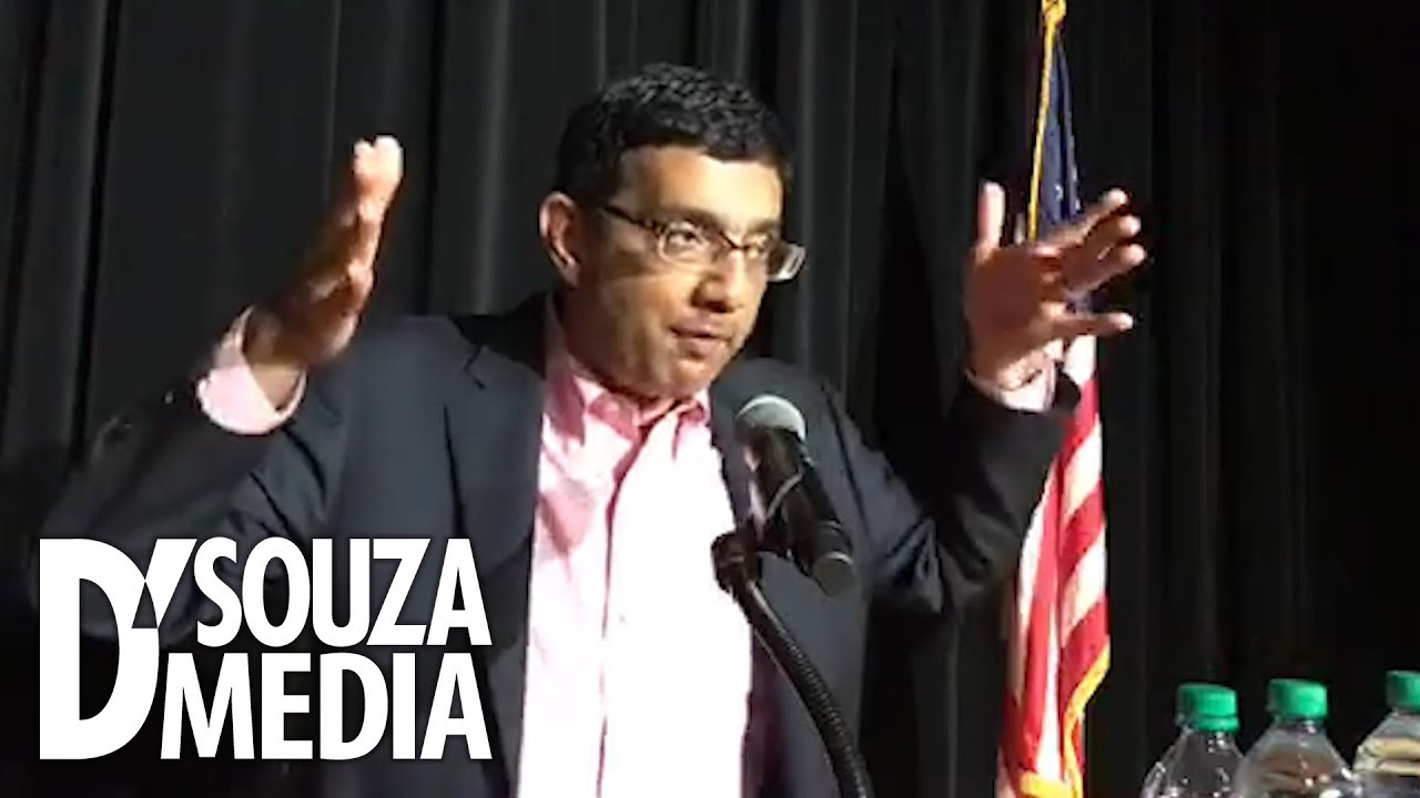Dinesh D'Souza Trump is uncannily truthful and has a strong sense of right & wrong
