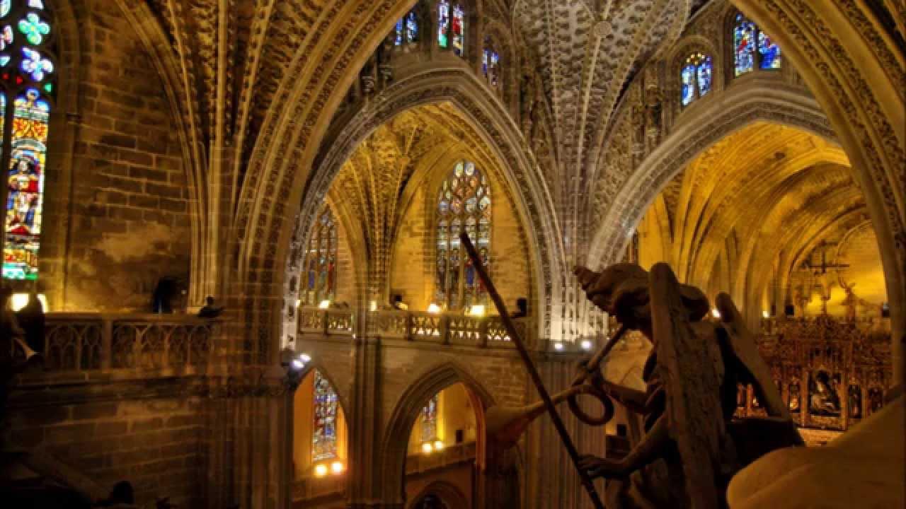 Sevilla catedral de santa mar a youtube - Catedral de sevilla interior ...