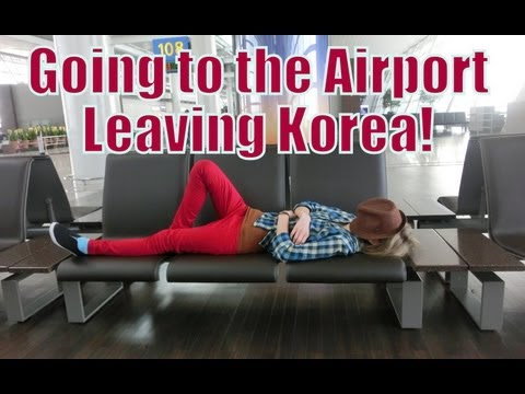 Going to Incheon International Airport by bus and flying to Kuala Lumpur, Malaysa | Bye Korea!