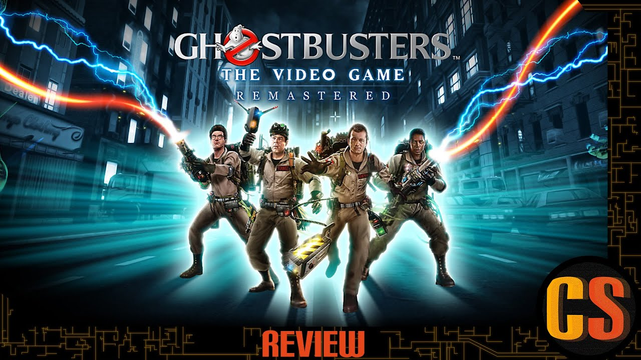 GHOSTBUSTERS: THE VIDEO GAME REMASTERED - PS4 REVIEW (Video Game Video Review)