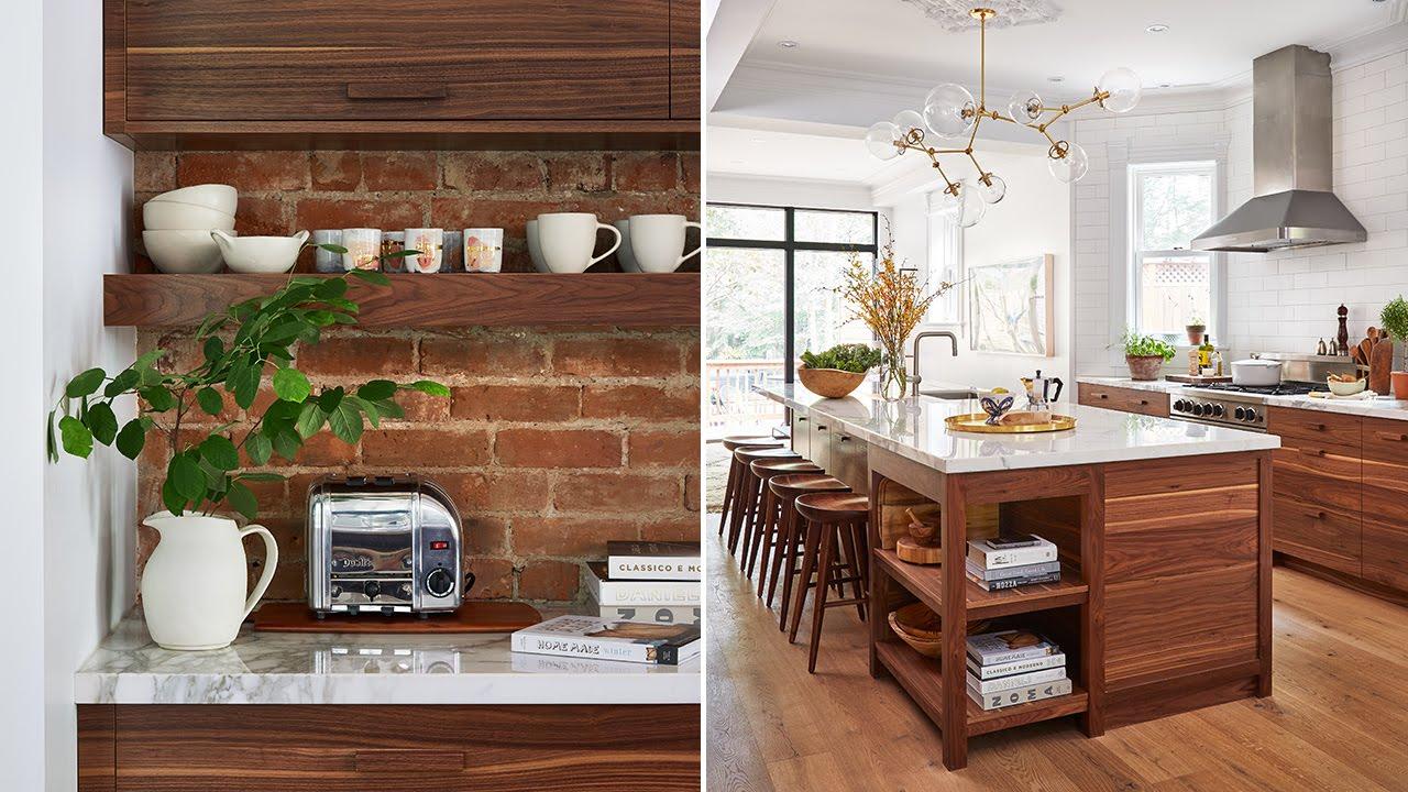 Interior Design  A Modern-Meets-Vintage Kitchen - YouTube