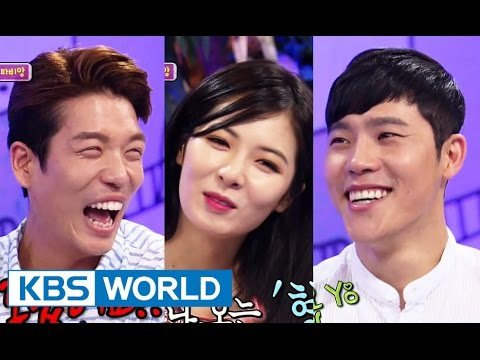 Hello Counselor - Hyun A, Changmin and Lee Hyeon! (2014.08.18)