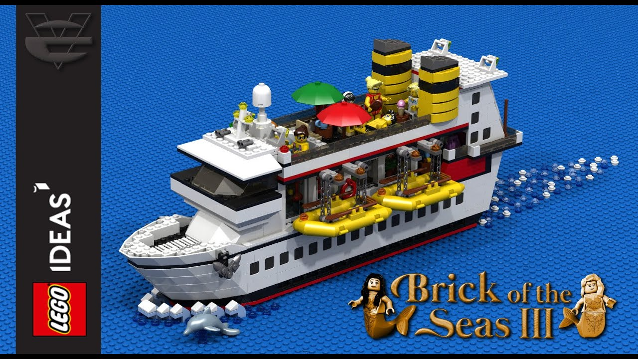Quot Brick Of The Seas Iii Quot Lego Cruise Ship Lego Ideas