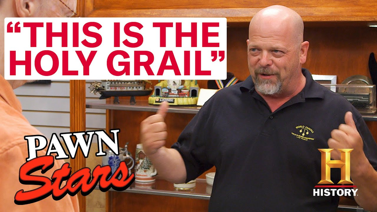 Download Pawn Stars: HOLY GRAIL DISCOVERIES *Part 3* (7 More Super Rare Items)