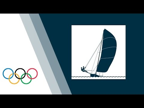 Sailing - 49er - Medal Race   London 2012 Olympic Games
