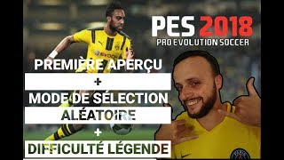 PES 2018 GAMEPLAY FR PS4 PRO
