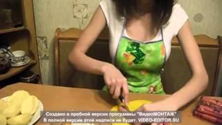 Анастасия Ивашкина   Картофельные 'лодочки' для любимых