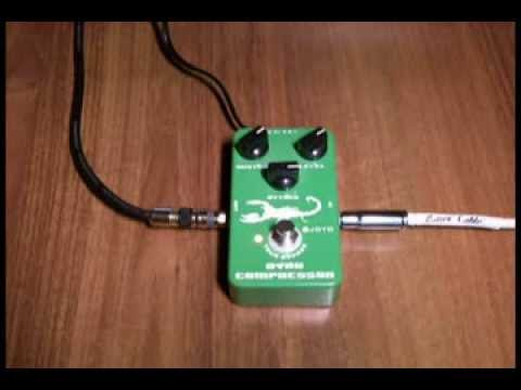 JOYO -  JF-10  Dynamic Compressor (Product Demo and Review )
