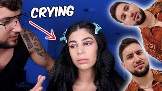 I DID MY MAKEUP HORRIBLY TO SEE HOW MY HUSBAND WOULD REACT!!!