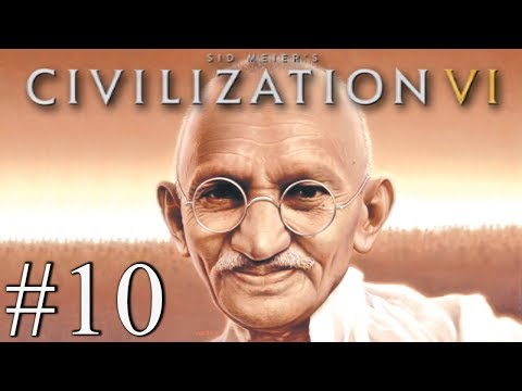 GANDHI LOVE NATION - Civilization VI - Religious Victory #10