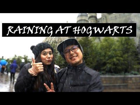 Japan Travel Vlog: Day 3 - Universal Studios Japan (Wizarding World of Harry Potter) || Poti Travels