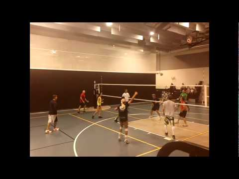 Palm beach gardens recreation center co ed volleyball tournament 3 no music youtube for Palm beach gardens recreation center