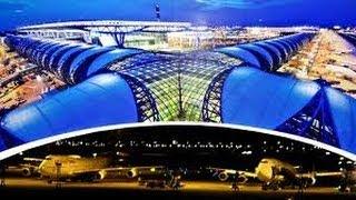 Аэропорт Бангкока - это Круто!(Аэропорт Бангкока - «Золотая земля» — Новый международный аэропорт Бангкока, крупнейший аэропорт Таиланд..., 2014-03-26T16:06:18.000Z)