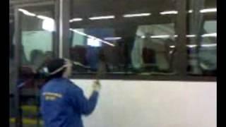 видео стекла для автобусов