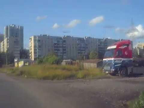 Хитрая дорожка от Купчино, Балкания Нова, мимо 12 стульев, помойки и автобусного парка, гаражей