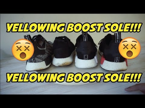 HOW TO CLEAN ADIDAS BOOST!!!! 100% REAL!!!!