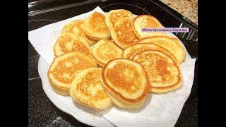 Оладушки без Грамма Муки. Это так вкусно ! Thick Pancakes without Flour