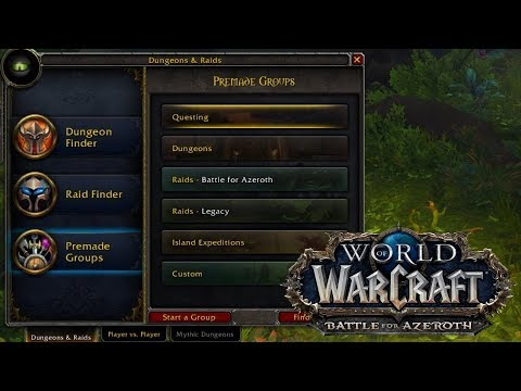 A Working World Quest Group Finding Add-on For BfA